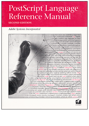 cover of PostScript Language Reference Manual